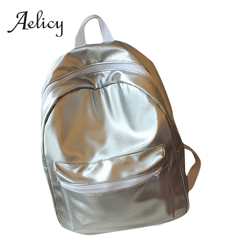 Aelicy Lady Casual Backpack Bags Simple Fashion Leather Backpack Students School Bags Women Shoulder Rucksack New 2019Aelicy Lady Casual Backpack Bags Simple Fashion Leather Backpack Students School Bags Women Shoulder Rucksack New 2019