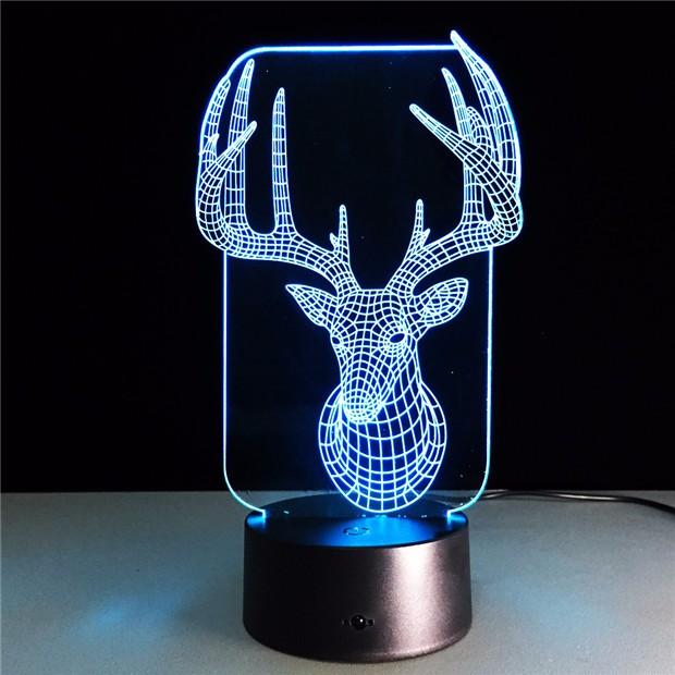 Deer Bedroom Lampe 3