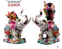 Керамическая таокаитао, как бутылка слонов на Корзина цветов, чтобы положить на свадебный подарок ремесла решений домашнего бизнеса