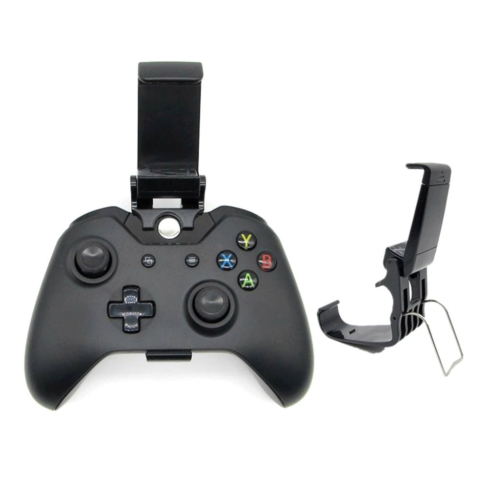 Game Controller Holder Mount Game Controller Bracket Handgrip Handle for XBOXONE Game Handle for Universal Mobile Phone image