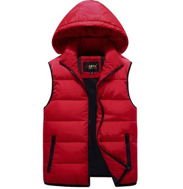 Wholesale Autumn and winter lovers cotton men 's new Korean fashion stand-down collar cotton vest men's jacket Outerwear &Coats