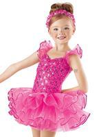 2018special Offer Limited Justaucorps Gymnastics Leotard Leotard Child Dance Costume Ballet Skirt Tulle Dress Latin Jazz Ch6088