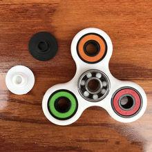 Tri-s Pinner Fidgetsของเล่นพลาสติกอยู่ไม่สุขปินเนอร์ออทิสติกสมาธิสั้นตลกของเล่นความเครียด