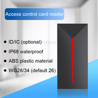 Eseye RFID Reader Long Range ReaderDoor Access Control System IP68 Waterproof  Reader 125khz/13.56mhz Proximity Card Machine|Control Card Readers| |  -