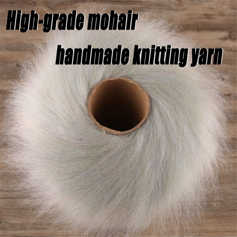 Korea 250g Natural Mohair Yarn for Hand Knitting Luxury Fur Angola Woolen Hairy Skein Sweater Cota