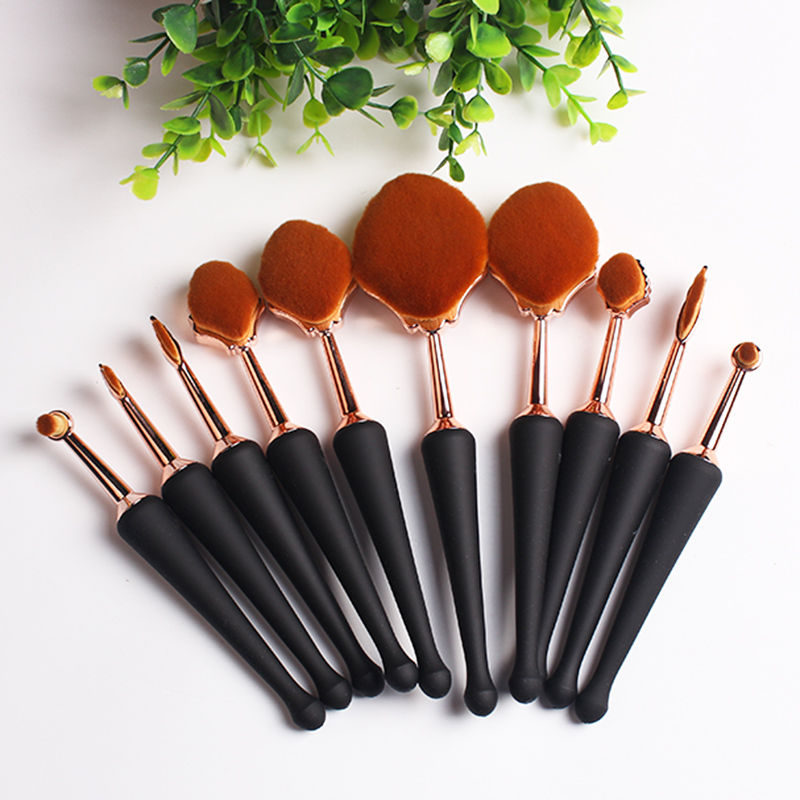 Makeup Brushes Set Foundation Toothbrush Highlighter Brush Kit Eyeshadow Eyeliner Powder Beauty Make Up Tool Cosmetics Brush Set bear leader baby boys girls sets 2017 autumn baby clothing sets house applique sweatshirt striped pants 2pcs for baby clothes