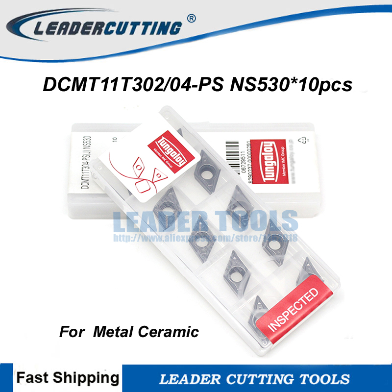 DCMT11T302 DCMT11T304 PS NS530 10pcs Tungaloy Original Carbide Inserts Cutting Blade for SDJCR SDNCN SDQCR Metal