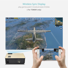 HD Projector – Android 6.0 WiFi Bluetooth Projector