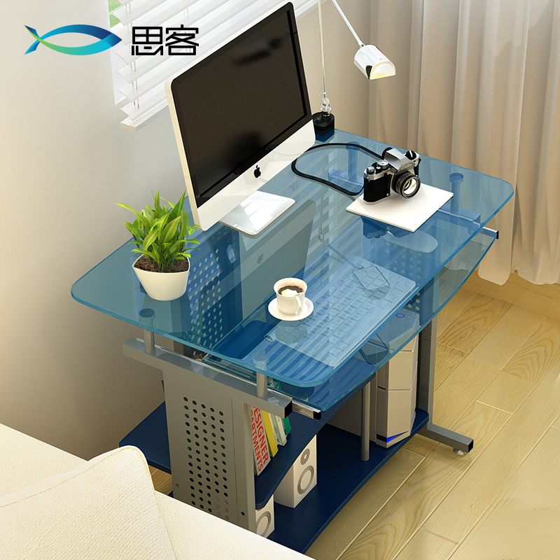 Best Off The Table Gl Computer Desk Desktop Minimalist Ikea Study 80cm In Children Tables From Furniture On Aliexpress Alibaba Group