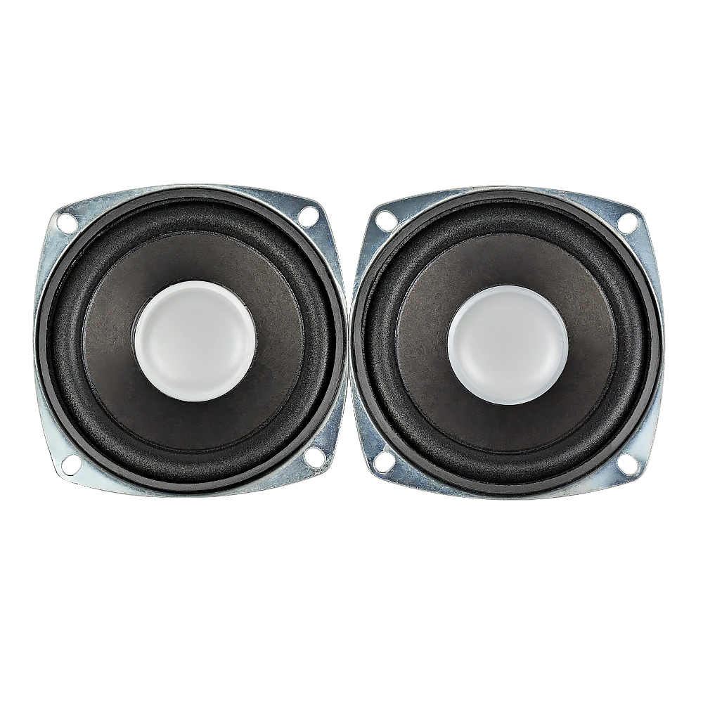 AIYIMA 2Pcs 3Inch 4Ohm 5W Portable Tweeter Speakers DIY For Mini Altavoz PC  Stereo Bluetooth Speaker Home Theater Sound System