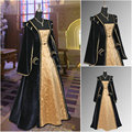 Custom orderR-910 Vintage Costumes 1860s Civil War Cape Dress/Gothic Lolita Dress Renaissance dress Halloween dress All size