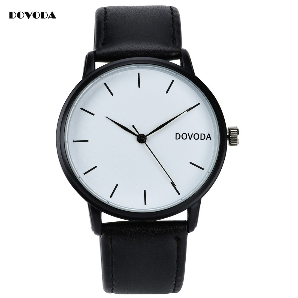 Dovoda quartz watches mens luxury brand business watch leather date day clock men waterproof for Dovoda watches