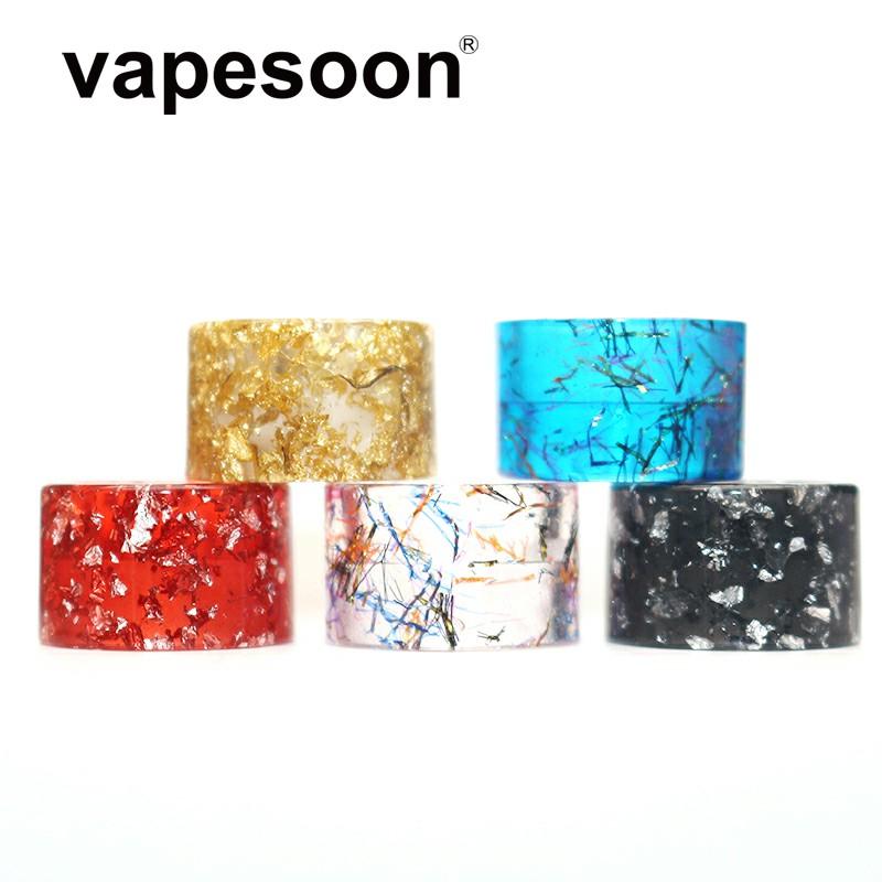 Colorful / Cobra Snake Skin Drip Tip Vape Mouthpiece for SMOK TFV-Mini V2  Tank Atomizer Fit R-Kiss Kit etc