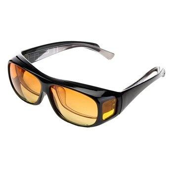 924641ed7e Lesov Unisex HD Visión Nocturna lentes de sol UV gafas de sol polarizadas  hombres mujeres conducción gafas de sol deportivas para hombres gafas