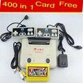 Subor D30 para la Consola de Videojuegos de 8 bits fc/nes Tarjeta de Juego Juegos 400 in1 card + Free TV con Doble Joystick