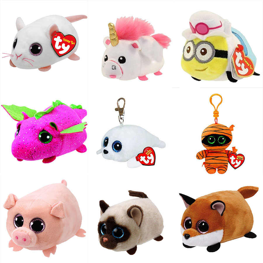 766e0741b8c ... Owl Mummy Pig Lion Whale Tortoise Rabbit Stuffed. RELATED PRODUCTS. Ty  Beanie Boos 4   10cm Mouse Unicorn Little Yellow Man Dolphins Pig Fox Mummy