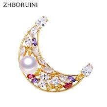 Zhboruini Изящные Ювелирные изделия высокого качества Женская
