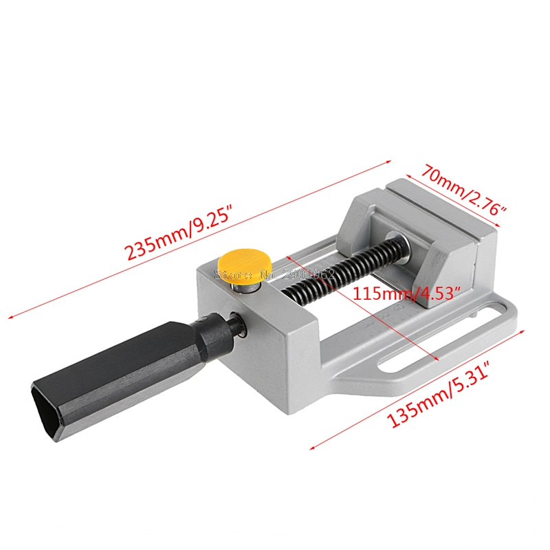 Bench Clamp Mini CNC Machine Simple (QGG) Aluminum Rapid Pliers for CNC Router -B119 small production aluminum cnc rapid prototyping and parts