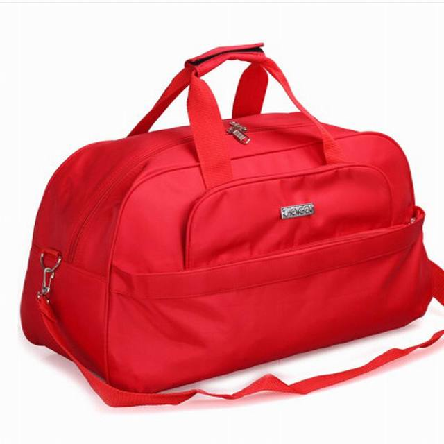 2018 Fashion Foldable portable shoulder bag waterproof travel bag Travel luggage large capacity Travel Tote men and women
