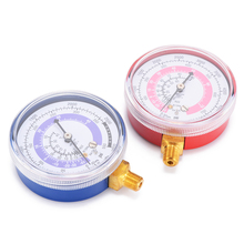 New 1 Pair Air Conditioner Gauge Refrigerant Pressure R134A R22 R410A High Low