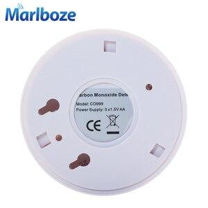 Image 4 - Home Security 85dB Warnung High Sensitive LCD Photoelektrische Unabhängige CO Gas Sensor Kohlenmonoxid vergiftung Alarm Detektor