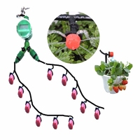 30m Garden Hose Automatic Micro Drip Irrigation System Adjustable Gardening Watering Kit DIY Greenhouse Garden Irrigation Kits