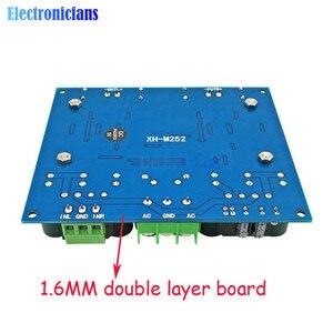 Image 2 - وحدة مكبر صوت رقمي عالي الطاقة 24 فولت تيار متردد استريو TDA8954TH ثنائي الشريحة 2x420W XH M252 لوحة مكبر صوت رقمي