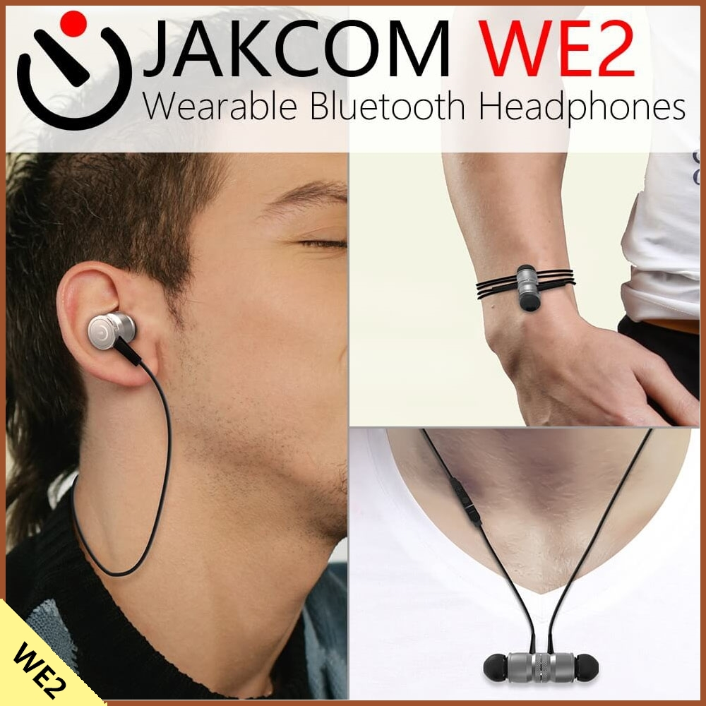 Jakcom WE2 Wearable Bluetooth Headphones New Product Of Earphones Headphones As Zealot Fones De Ouvido Headset Usb