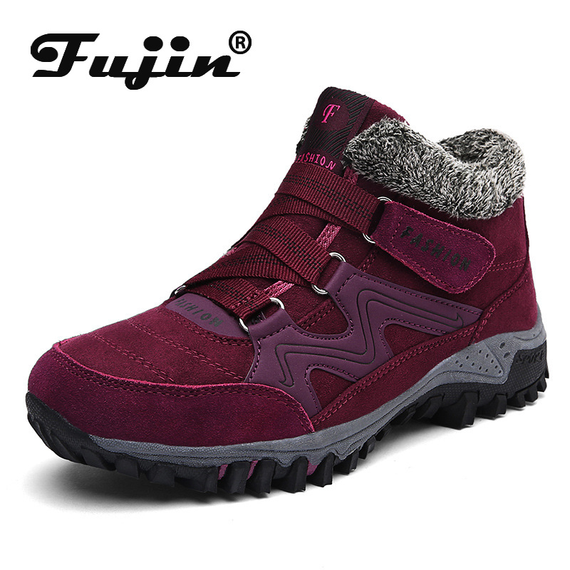 Fujin Snow Boots Women Cotton Shoes Dropshipping Mother Warm Shoes Cotton Shoes Women Winter Warm and Velvet Ski BootsFujin Snow Boots Women Cotton Shoes Dropshipping Mother Warm Shoes Cotton Shoes Women Winter Warm and Velvet Ski Boots