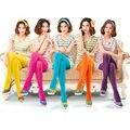 Envío libre Del color Del Caramelo 80 d terciopelo pantimedias respaldo Conjoined color incluso medias de las mujeres de invierno