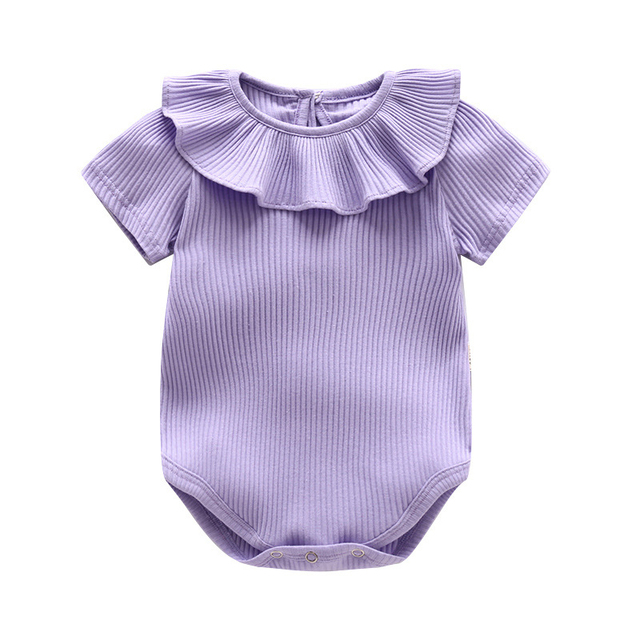 Macacão de bebê Bebê Menina Conjuntos de Roupas de Verão 2017 Do Bebê Roupas  de Menina 61829fe5697