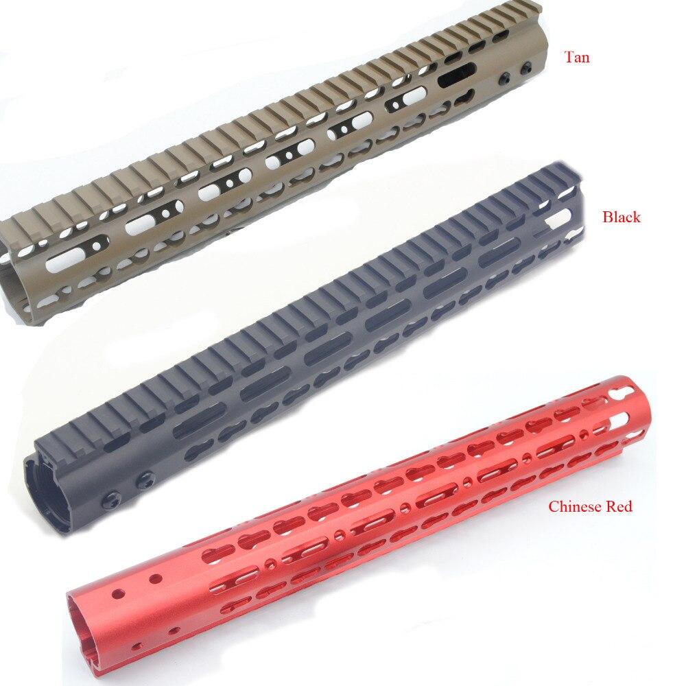 Trirock новые черные/коричневые/Chinses красный 13.5 дюймов NSR свободном ключ мод цевье рейку системы