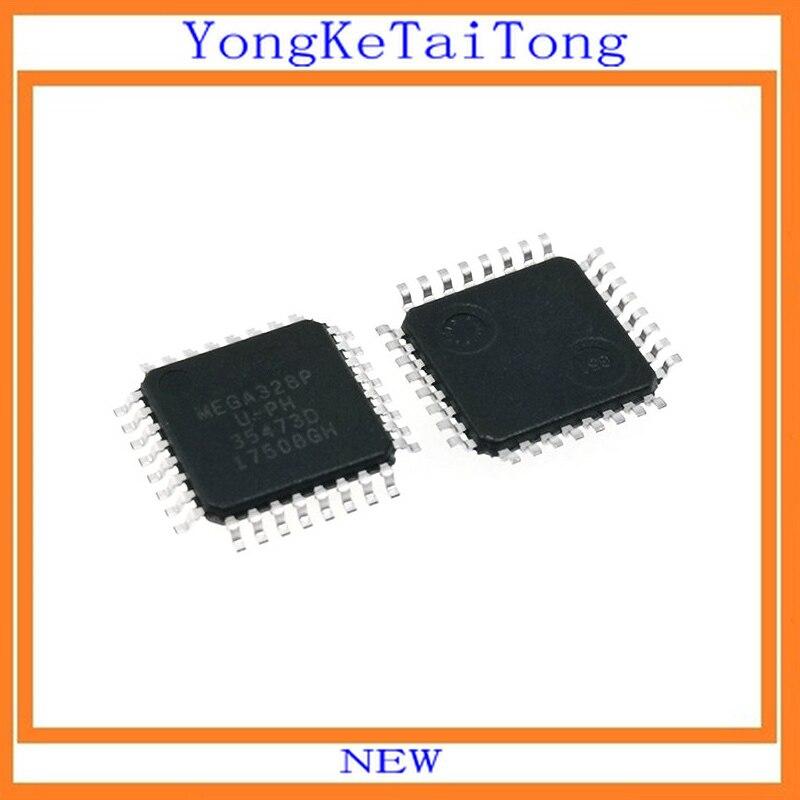 Part # ATMEGA328P-MU 32K FLASH 8BIT MCU 32QFN AVR