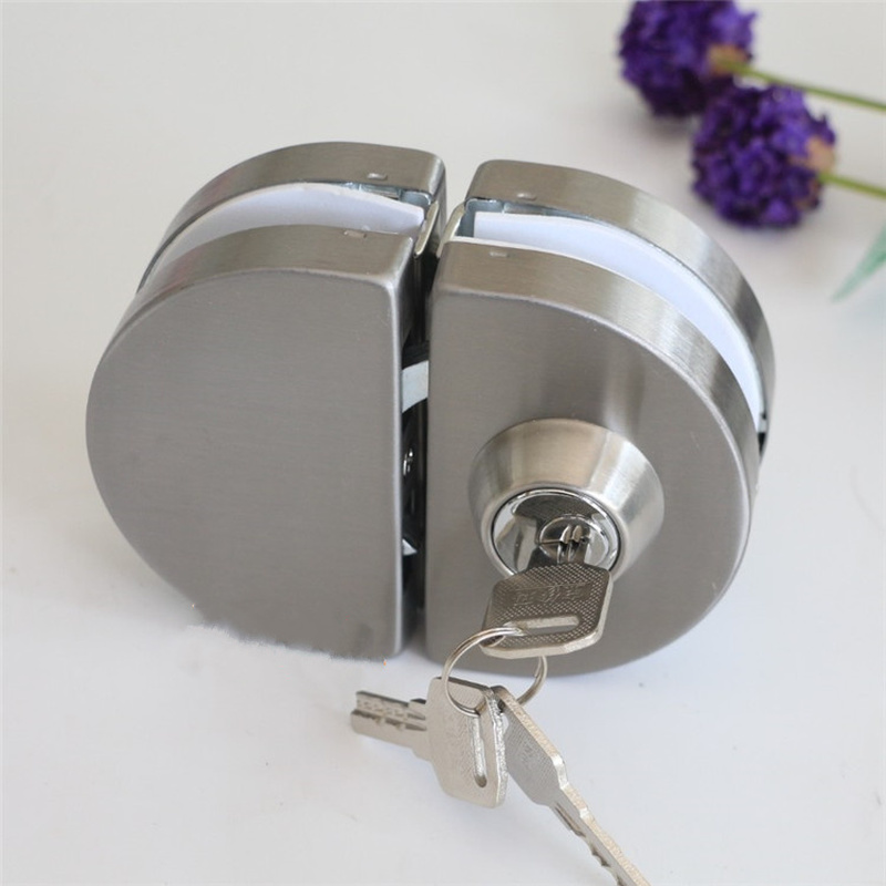 Quality Central Glass Door Lock Safurance 10-12mm Free Opening Lock with 3 Keys Double Bolts Swing Push Sliding Door hardware 2018 new arrival dental arch wire former square wire molding orthodontic buccal tube oral dental tools