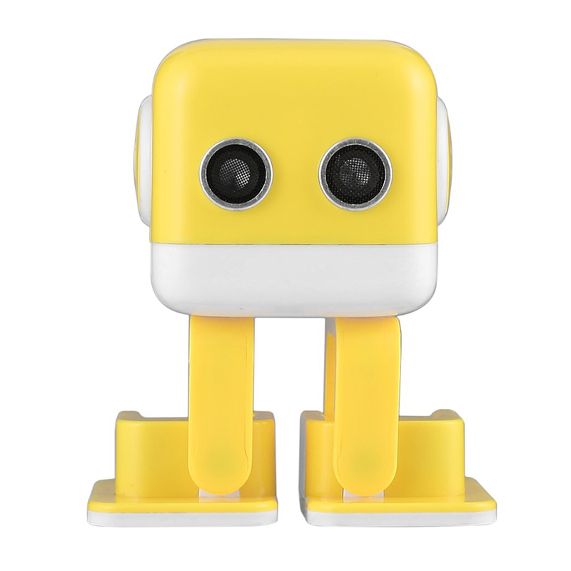 LCLL-Wireless Handsfree Bluetooth Smart Robot Stereo Speaker for Children Education Robot with Dance Music & LED Light