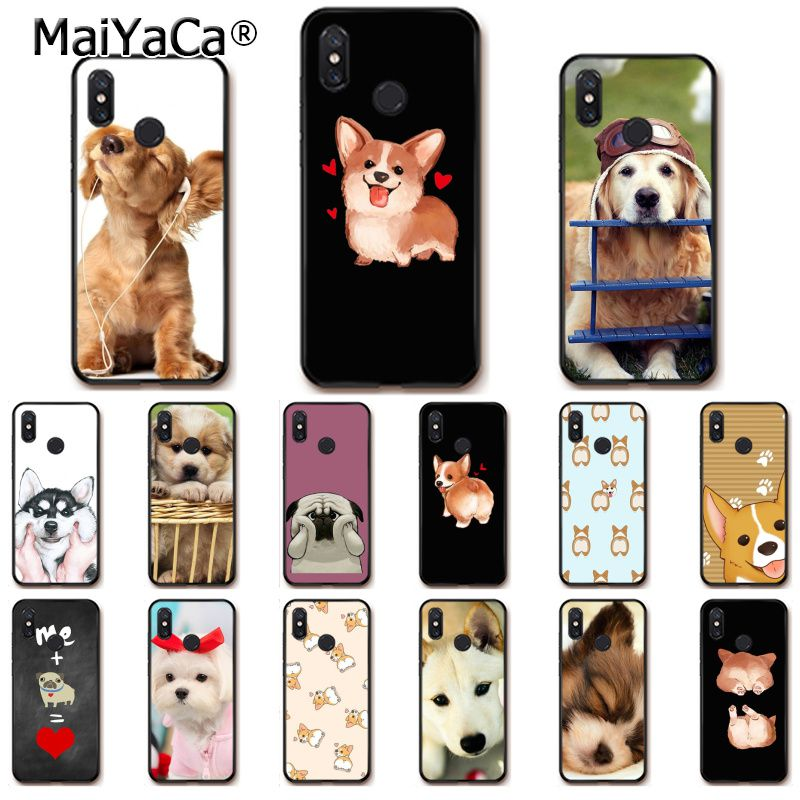Competent Maiyacasuper Cute Corgi Sexy Cartoon Dog Ass Phone Case For Xiaomi Mi 6 Mix2 Mix2s Note3 8 8se Redmi 5 5plus Note4 4x Note5