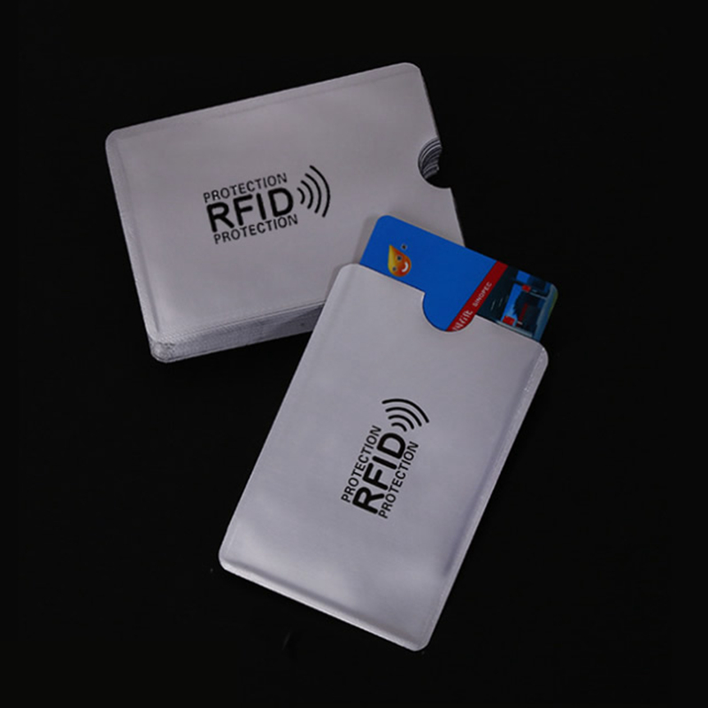Anti Rfid Blocking Reader Lock Metal Card Holder Aluminium Porte Carte Rfid Protection Covers for Credit Cards Case Cardholder