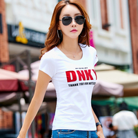 Asia Size Women Cotton T Shirt Summer 2017 Fashion Manboth Wear T Shirt High Quality