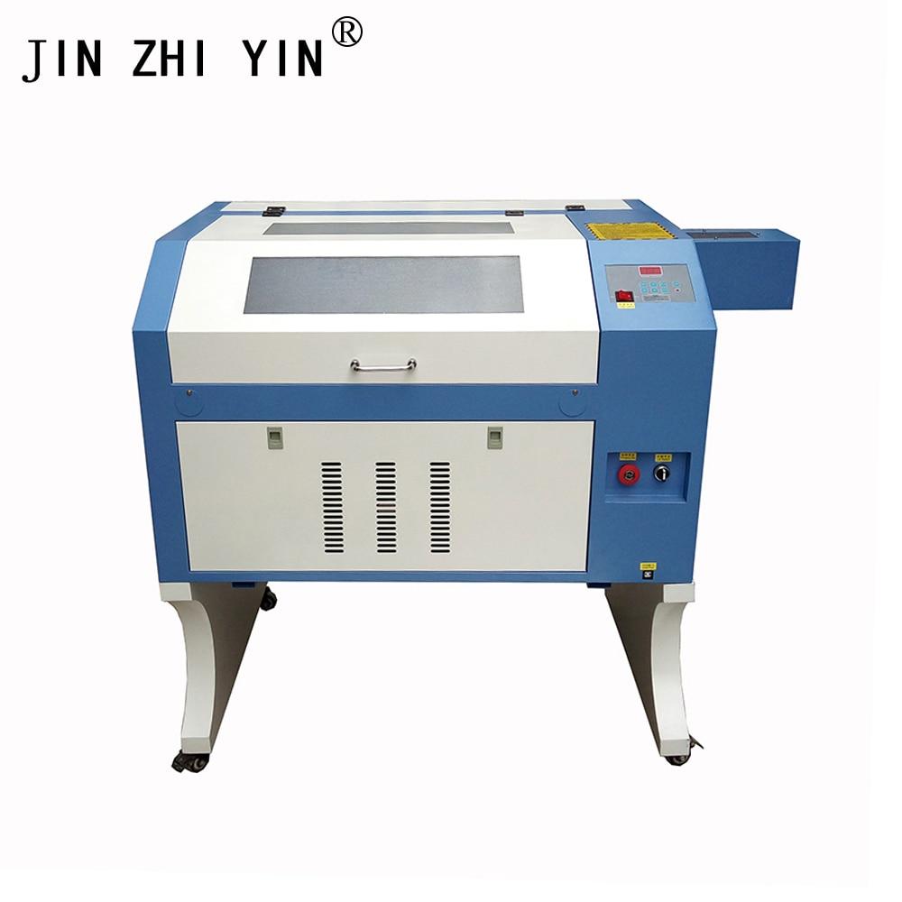 Лазерная гравировка 600*400 мм 80 Вт 220 В/110 В Co2 лазерный гравер машина для резки DIY Лазерный Резак маркировочная машина, машина для резьбы