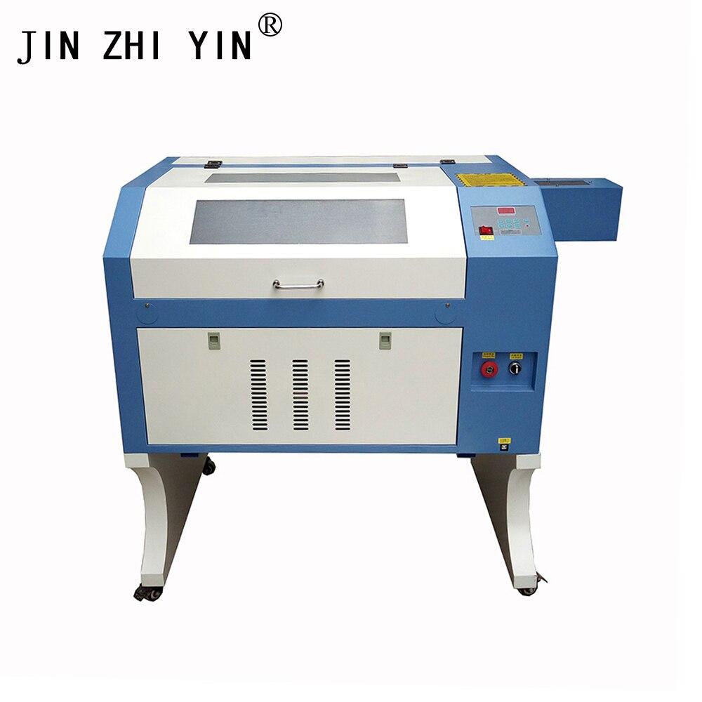 Gravura do laser 600*400mm 80 w 220 v/110 v co2 máquina de corte do gravador do laser diy máquina da marcação do cortador do laser, cinzelando a máquina