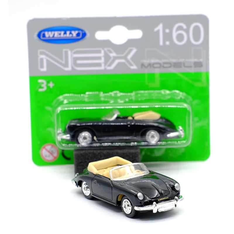 ใหม่มาถึง WELLY 1: 60 356B รถ Diecast รุ่นของเล่นสำหรับของขวัญเด็กของเล่นคอลเลกชัน