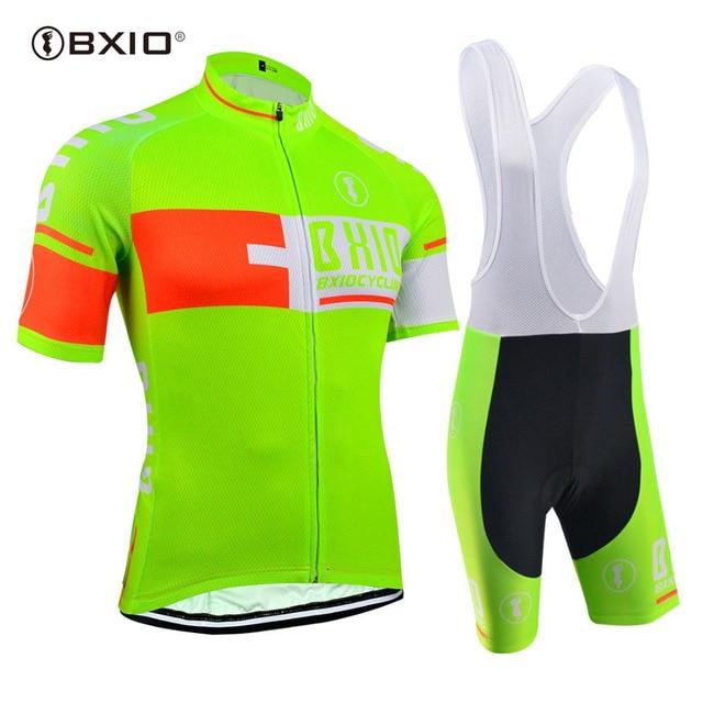 528d9b606 Marca de LA UE BXIO Fluorescencia Mujeres Jerseys de Ciclo Uso 5D Gel Pad  Pro Team