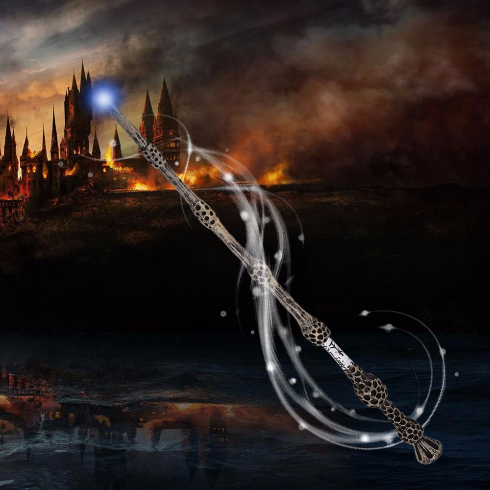 Movie Albus Dumbledore Magical The Elder Magic Wand In Box Magic Tricks Magical Wand Toys ...