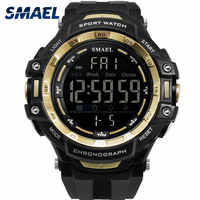 SMAEL New Sports Watches Men Outdoor Fashion Digital Watch Multifunction 50M Waterproof Wristwatches Man Relogio Masculino