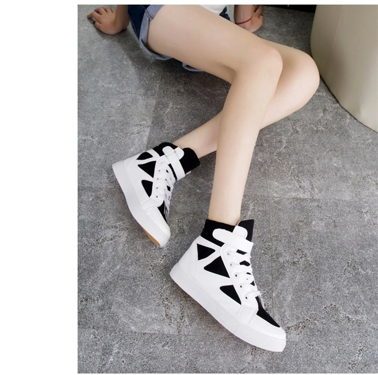 LOVE Fashion High Top Casual Shoes For Women Canvas Shoes 2015 New Autumn Ankle Boots Breathable Ladies Shoes Student Flats YD28 (14)