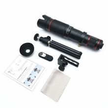 36x telescópio móvel longo foco lente da câmera do telefone hd transmissão ao vivo tirar fotos lentes