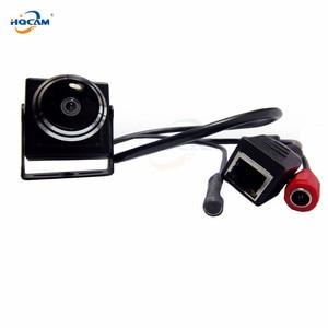 Image 5 - HQCAM 5/4/3/2/1.3/1MP Audio video camera MINI IP camera H.264 mic camera P2P network 1.78mm Fisheye Wide Angle Fisheye Lens