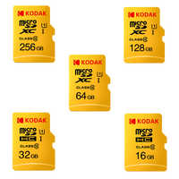 Kodak Cartão Micro SD GB 32 16GB 64GB Cartão de 128GB TF Class10 C10 U1 80 MB/s Memória cartão de Alta Velocidade