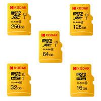Kodak Micro SD Card 16GB 32GB 64GB 128GB Carta di TF Class10 C10 U1 80 MB/s di Memoria carta di Velocità Veloce