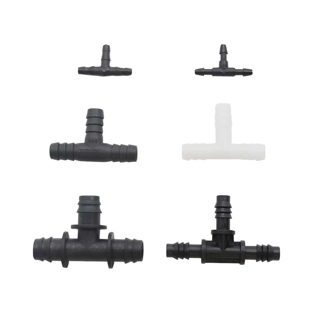 Y-Piece Barbed 8-12 8 mm Tube Hose Pipe Connector Fitting Air Water Joiner